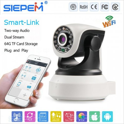 CAMERA IP WIFI SIEPEM 6203