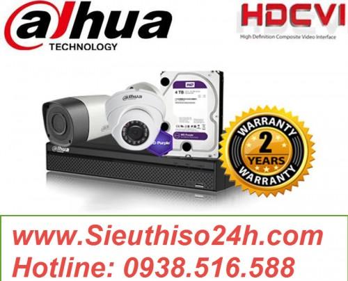 Trọn Bộ Camera Chuẩn 4K 4.0Megapixel